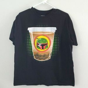 STAR WARS BOBA FETT T-SHIRT.SZ L